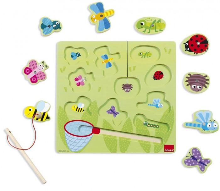 Купить Деревянные игрушки, Деревянная игрушка Goula Магнитная игра Жуки