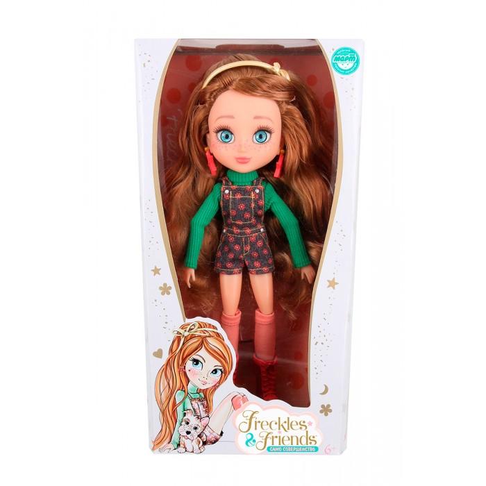 Куклы и одежда для кукол FrecklesFriends Кукла Подружка-веснушка Флори веснушка комплект веснушка king 01 черный белый 92 56