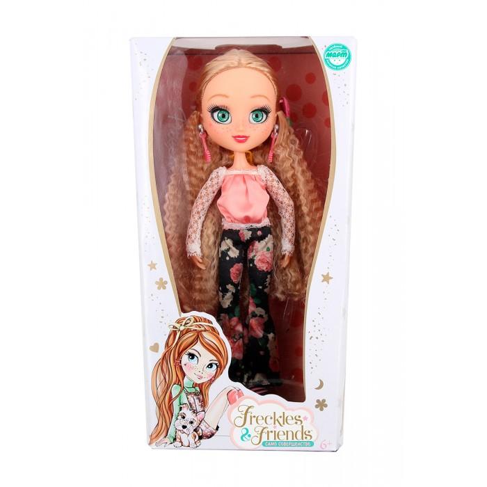Куклы и одежда для кукол FrecklesFriends Кукла Подружка-веснушка Квин веснушка комплект веснушка king 01 черный белый 92 56