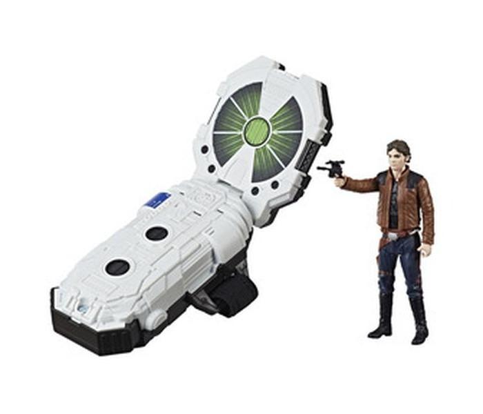Star Wars Набор Интерактивный браслет Браслет с фигуркойИгровые наборы<br>Star Wars Набор Интерактивный браслет Браслет с фигуркой позволяет устраивать еще более реалистичные игры по мотивам звездной саги.  Браслет Форс Линк 2.0 активирует звуки и фразы персонажей и транспортных средств, которые населяют вымышленную вселенную! Для еще большего эффектаподключите несколько фигур, которые поддерживают эту технологии: вы услышите, как персонажи переговариваются между собой.  Отсканируйте фигурку в специальном мобильном приложении, чтобы разблокировать следующий игровой уровень.  Особенности:   Браслет с технологией Форс Линк 2.0 совместим со всеми игрушками, которые поддерживают эту технологию Для более реалистичной игры Дизайн по мотивам фильмов Звездные воины Возможность воссоздавать сцены с участием любимых персонажей. В комплекте: Браслет с технологией Форс Линк 2.0 фигурка аксессуар инструкции.