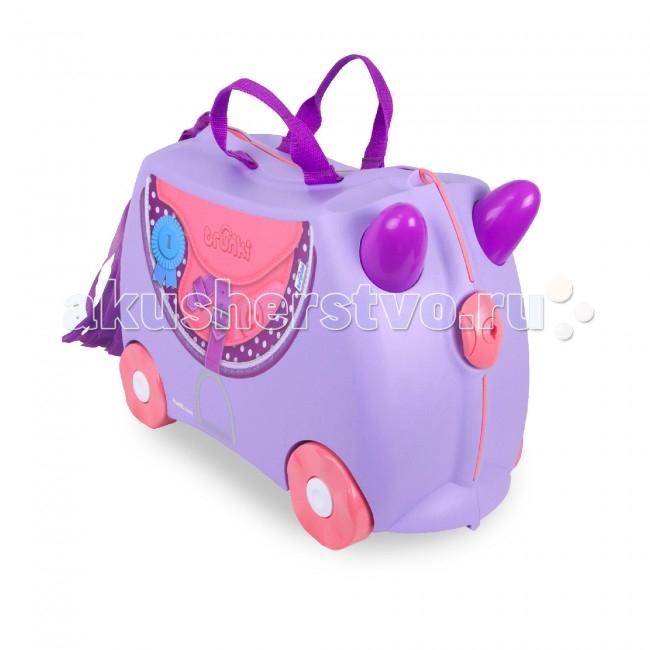 Летние товары , Детские чемоданы Trunki Чемодан на колесах Пони арт: 63413 -  Детские чемоданы