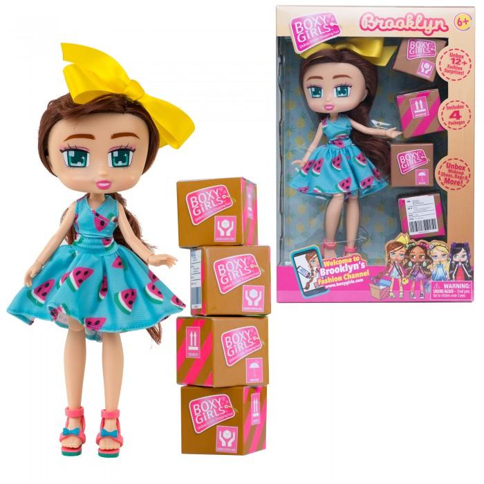1 Toy Кукла Boxy Girls Brooklyn с аксессуарами 20 см