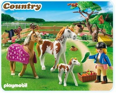 Конструкторы Playmobil Лошади: Загон для лошадей железо для лошадей украина