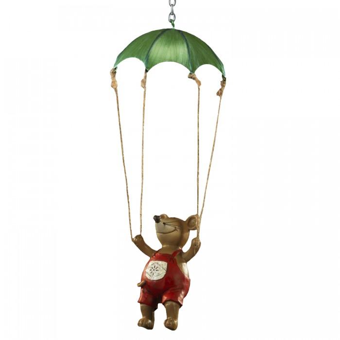 Erich Krause Ёлочная игрушка Мышь на парашюте 10 см