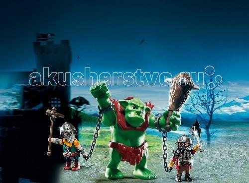 Конструкторы Playmobil Рыцари: Гигантский тролль и боевые гномы топоры хускварна в мурманске
