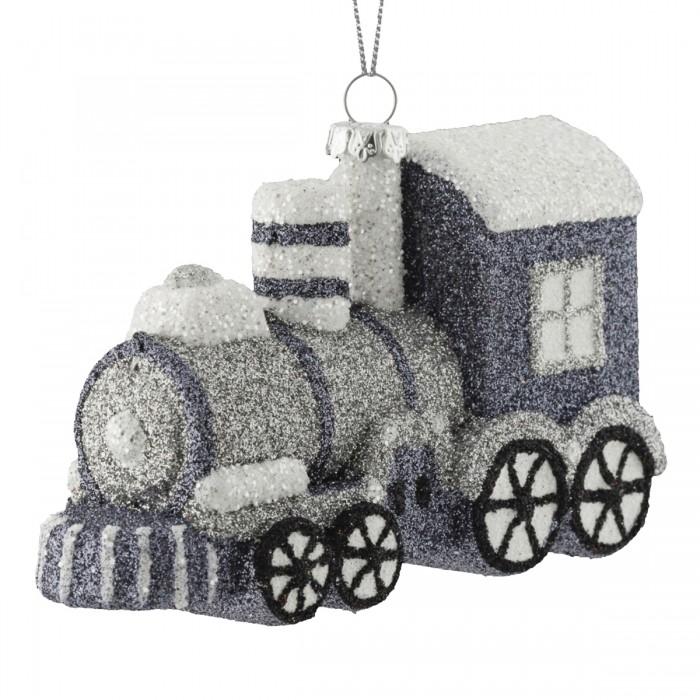 Фото - Елочные игрушки Erich Krause Decor Украшение Паровоз серебряный 12 см россия паровоз с50