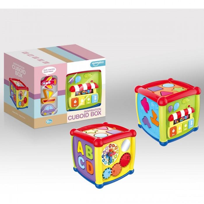 Развивающие игрушки Ути Пути Кубики-сортеры Веселый куб сортеры orion toys куб малый