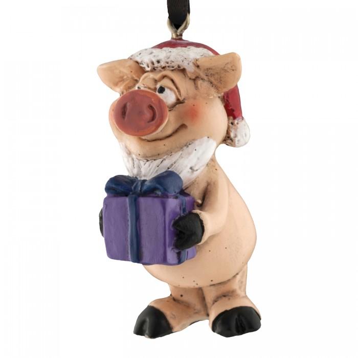 Елочные игрушки Erich Krause Decor Ёлочная игрушка Вам подарок 5 см