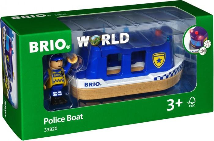 Brio Игровой набор Полицейский катер