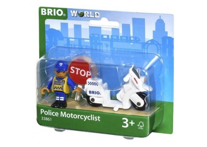 Brio Игровой набор Полицейский мотоцикл