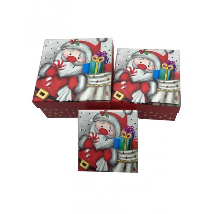Pioneer Набор квадратных подарочных коробок 3 в 1 73884