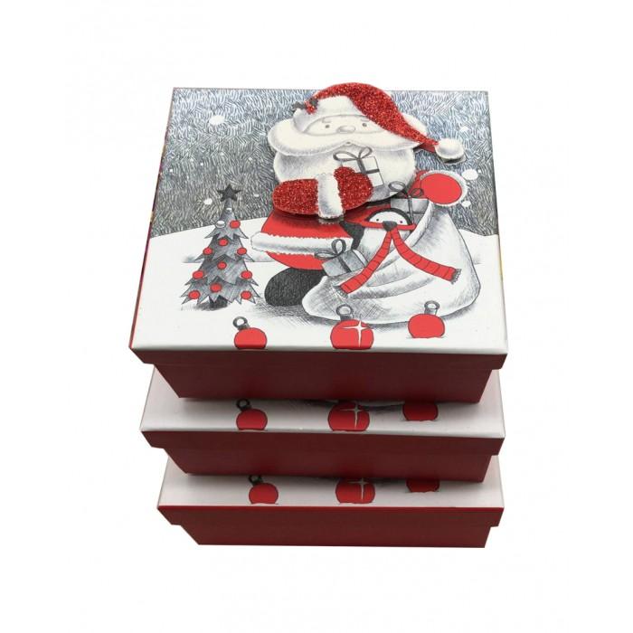 Pioneer Набор квадратных подарочных коробок 3 в 1 73892