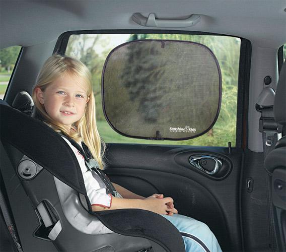 аксессуары для автомобиля Аксессуары для автомобиля Diono Шторки солнцезащитные Sun Stoppers 2 шт.