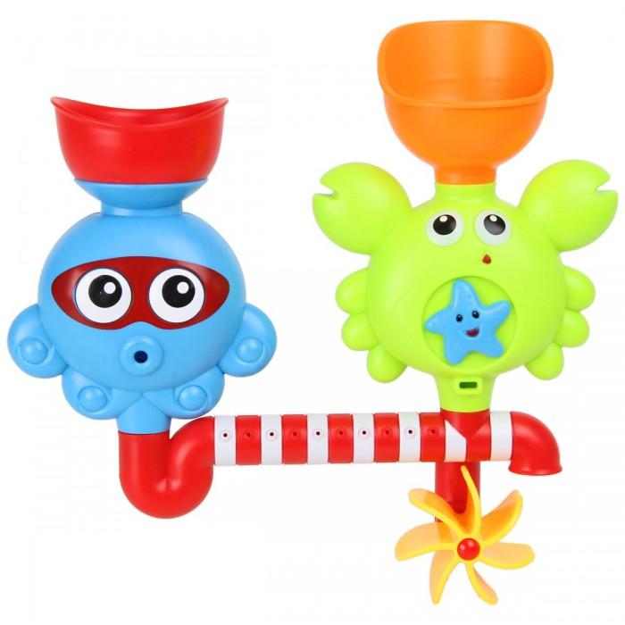 Купить Ути Пути Игрушка для ванны Крабик и осьминог в интернет магазине. Цены, фото, описания, характеристики, отзывы, обзоры
