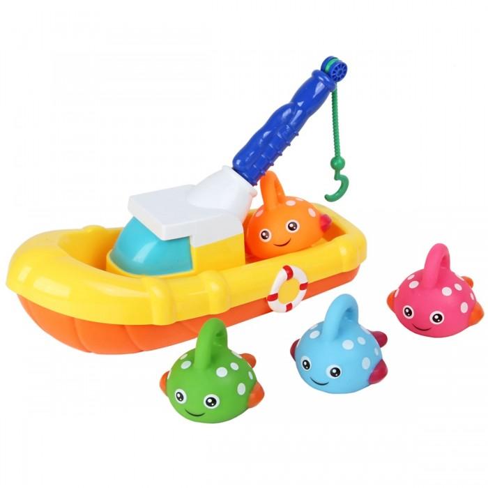 Купить Игрушки для ванны, Ути Пути Игрушка для ванны Рыбацкая лодка