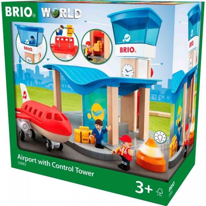 brio аэропорт и Игровые наборы Brio Набор Аэропорт и Командно-диспетчерский пункт