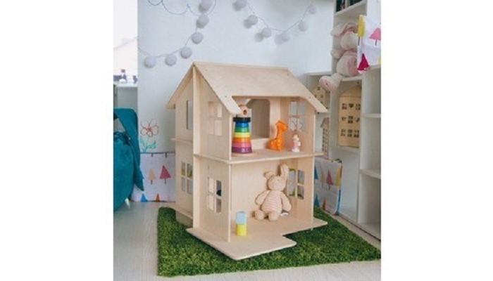 Слайн Развивающий домик Дива-1Кукольные домики и мебель<br>Слайн Развивающий домик Дива-1  Особенности: Развивающие домики - Дива 1-5  созданы для детей  от 1 года.  Домики поставляются в разобранном виде – не имеют покраски.  Спроектированы дизайнерами компании для развития умственных способностей ребёнка – в процессе игры ребенку предоставлена возможность раскрашивать домик гуашью.  Тематическое оформление привлекательно и для мальчиков. и для девочек.  Домики Дива-1, Дива-2, Дива-3 изготовлены из фанеры 0,5 см, которая не имеет запаха и абсолютно безвредна для детей.  Дива-4 и Дива-5 – изготовлены из Фанеры. Имеют простую конструкцию и понятную схему сборки.