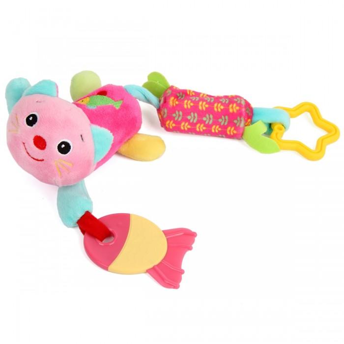 Подвесные игрушки Ути Пути с прорезывателем Кошка