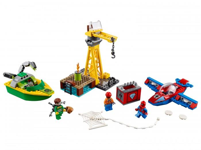 Конструктор Lego Человек-паук: похищение бриллиантов Доктором Осьминогом