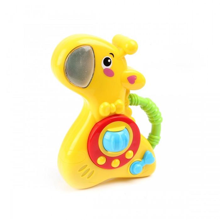 Картинка для Развивающая игрушка Ути Пути музыкальная Жирафик