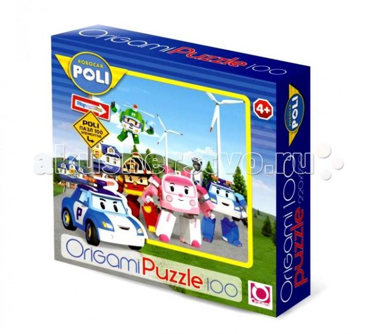 Пазлы Робокар Поли (Robocar Poli) Пазл 100А 05897 пазл origami 05897 robocar 100 эл