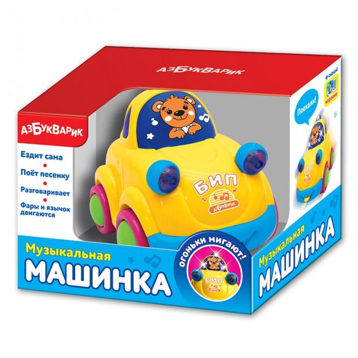 Электронные игрушки Азбукварик Музыкальная машинка 2242 азбукварик каталка азбукварик котик