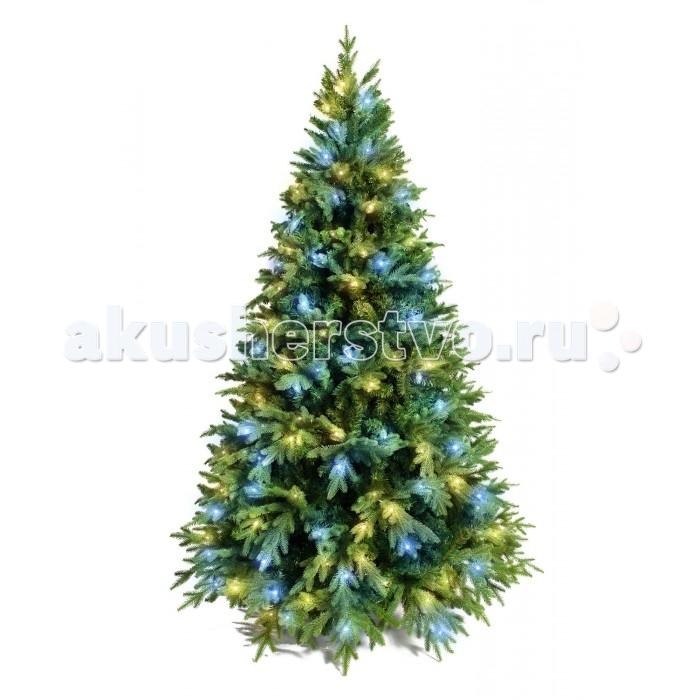 Купить Crystal Trees Искусственная Ель Этна с вплетенной гирляндой 210 см в интернет магазине. Цены, фото, описания, характеристики, отзывы, обзоры