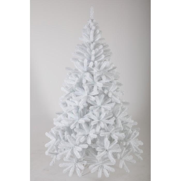 Картинка для Crystal Trees Искусственная Ель Соренто жемчужная 210 см