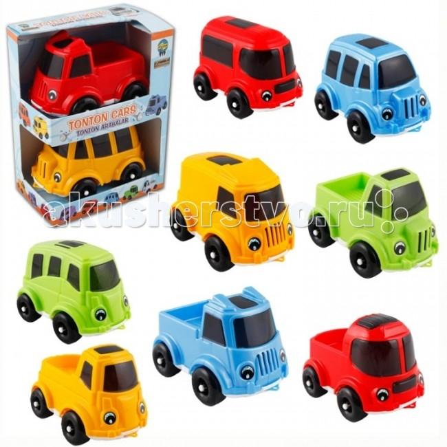 Машины Pilsan Набор машин 2 шт. Tonton pilsan контейнер для игрушек бегемот