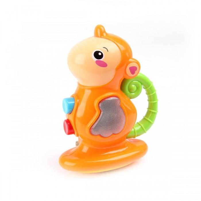 Картинка для Развивающая игрушка Ути Пути музыкальная Обезьянка