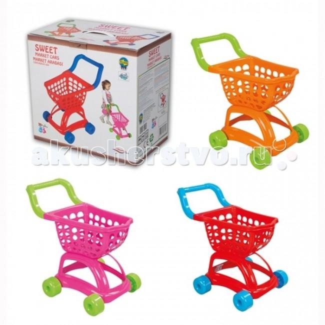 Ролевые игры Pilsan Тележка для покупок Sweet pilsan контейнер для игрушек бегемот