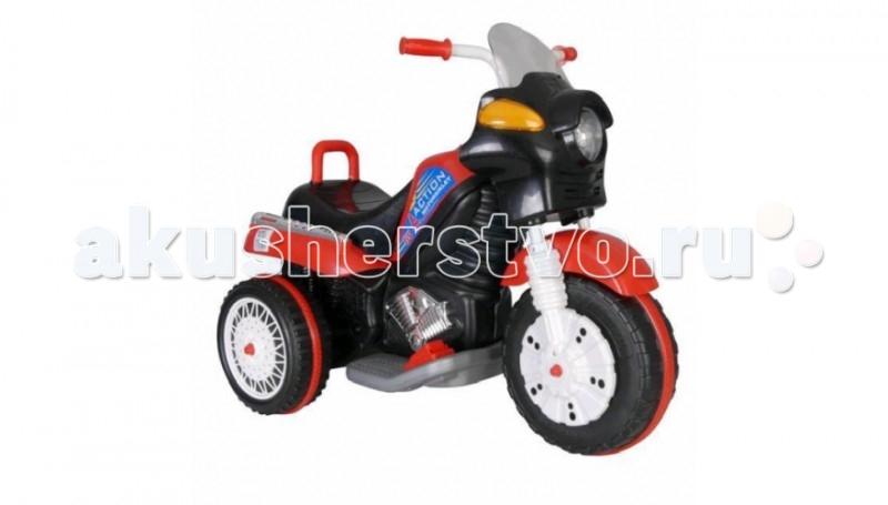 Электромобиль Pilsan ActionActionЭлектрический мотоцикл Pilsan Action предназначен для детей от 3 до 6 лет. Элегантный аккумуляторный мотоцикл для Вашего малыша. Такой мотоцикл желает иметь каждый ребенок в своем гараже. При полном заряде аккумулятора способен работать 3 часа до полной разрядки. Набор зарядного устройства идет в комплекте с электромобилем.  Музыкальный сигнал Аккумулятор 6V 12Ah Автоматическое торможение при снятии ноги с педали Колеса с бесшумным покрытием Рычаг переключения Вперед/Назад Удобное сидение Двигатель 1X6V с задним расположением  Для детей от 3-6 лет  Наличие плавкого предохранителя Педаль газа  Передние фары  Максимальная скорость 3.5 км/ч Максимальная грузоподъемность 35 кг   Цвета в ассортименте.   Размер машинки - 54х92х73 см.  Компания Pilsan начала свою историю в 1942 году. Сегодня – это компания-гигант индустрии крупногабаритных детских игрушек, которая экспортирует свою продукцию в 57 стран мира. Компанией выпускается 146 наименований продукции – аккумуляторные и педальные автомобили, велосипеды, развивающие игрушки и аксессуары для детей. Вся продукция Pilsan сертифицирована и отвечает международным стандартам качества.<br>