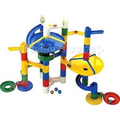 Конструкторы Marbutopia Катиться и крутиться (Slide & Swirl) 44 детали конструкторы marbutopia slide maker конструктор