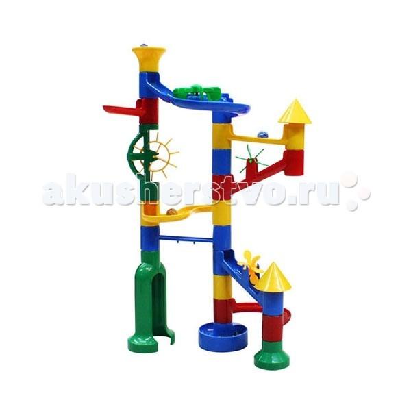 Конструкторы Marbutopia Замок (Castle) 31 деталь конструкторы marbutopia slide maker конструктор