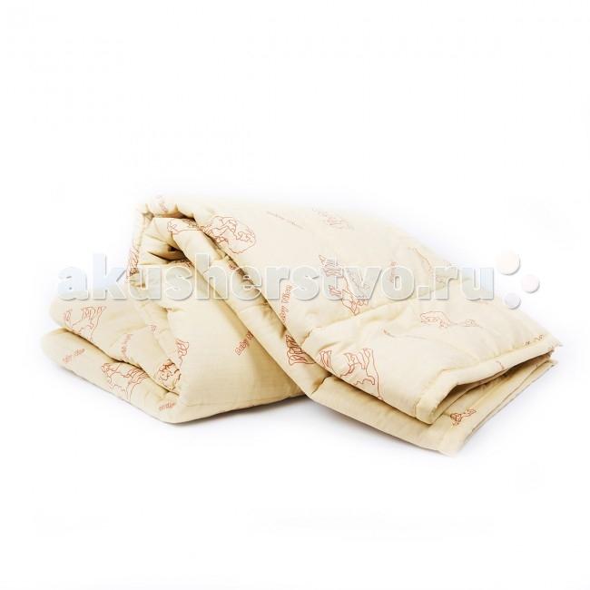 Постельные принадлежности , Одеяла Baby Nice (ОТК) стеганное 105х140 см (верблюжья шерсть) арт: 63915 -  Одеяла