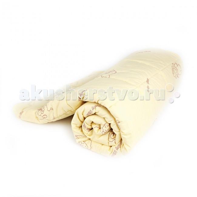 Постельные принадлежности , Одеяла Baby Nice (ОТК) стеганное 105х140 см (овечья шерсть) арт: 63916 -  Одеяла