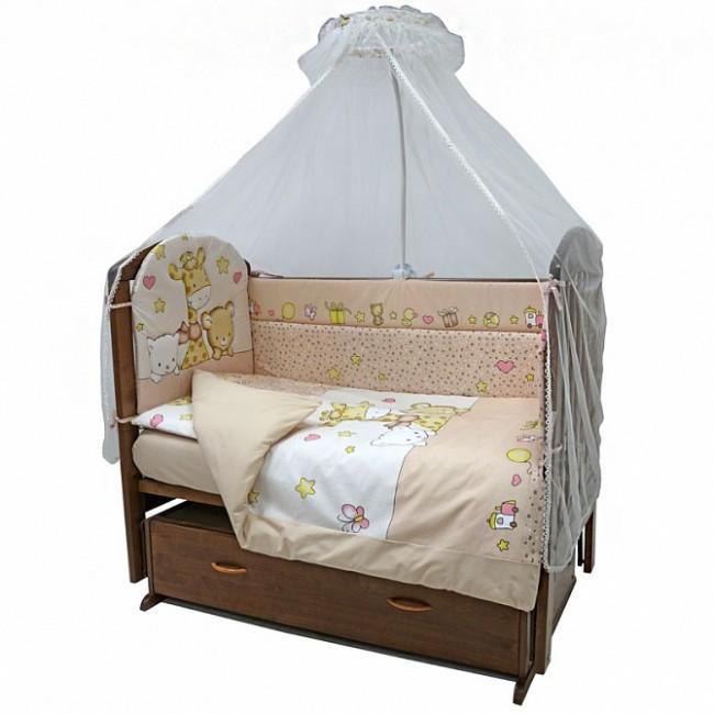 Комплект в кроватку Топотушки Детский Мир (7 предметов)