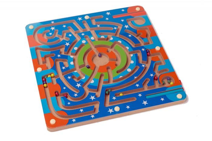 Деревянная игрушка Bradex Лабиринт магнитный Звёздный путь