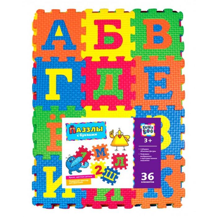 Kribly Boo Пазлы с буквами 36 элементов 33x25 см