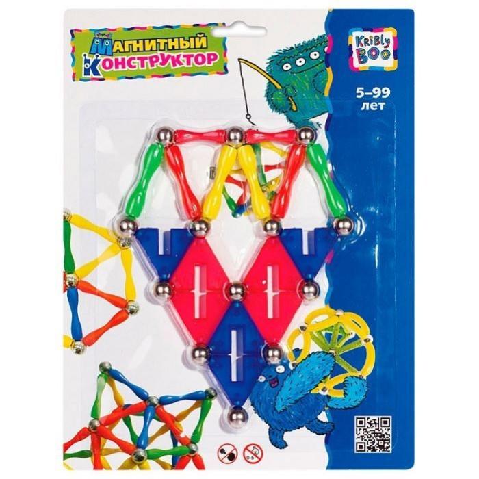 Конструкторы Kribly Boo магнитный Пирамида 29 элементов