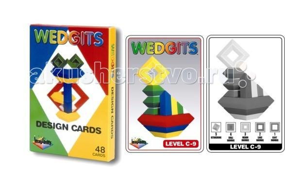 Фото Раннее развитие Wedgits Junior Design Cards Карточки с заданиями