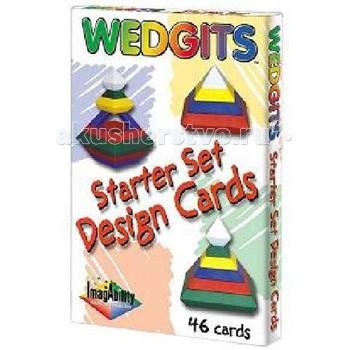 Раннее развитие Wedgits Starter Design Cards Карточки с заданиями