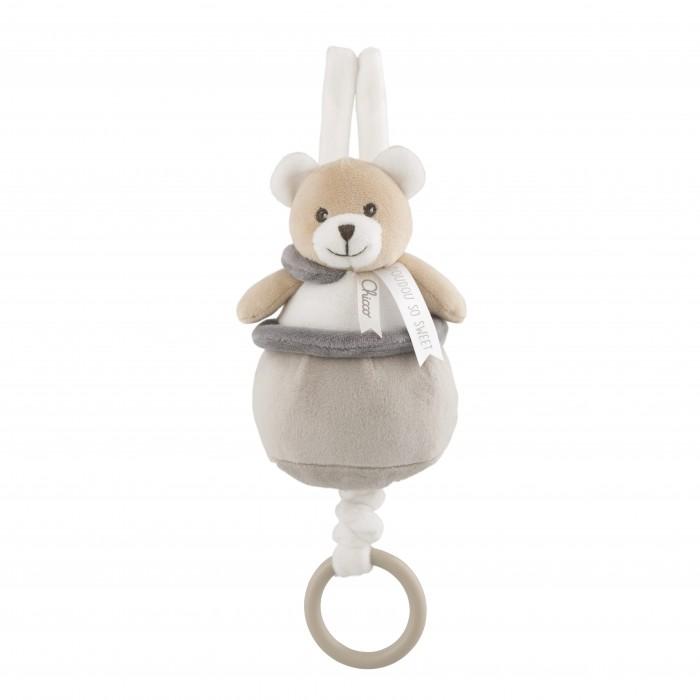 Купить Подвесные игрушки, Подвесная игрушка Chicco мягкая музыкальная Медвежонок Doudou