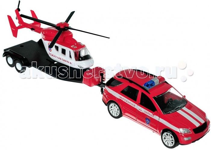 Машины Autogrand Машина Germany Allroad Пожарная охрана с вертолетом 1:36