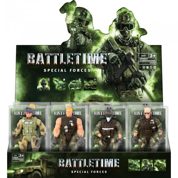 цена на Игровые фигурки Battletime Фигурка солдата Страйкер