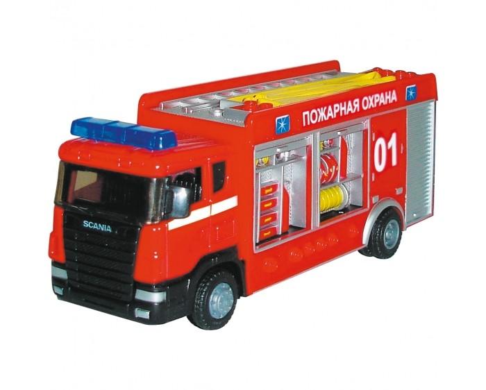 Машины Autogrand Машина Scania Пожарная спецбригада 1:48