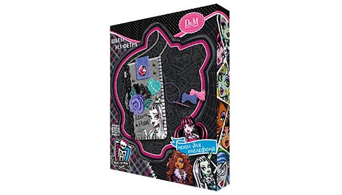 Наборы кройки и шитья DochaMama Набор шьем из фетра чехол для телефона Фрэнки Monster High