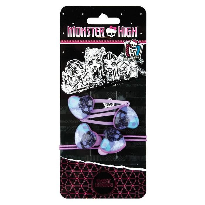 Аксессуары Daisy Design Набор аксессуаров для волос Monster High Vamp passion 4 шт. + стикер