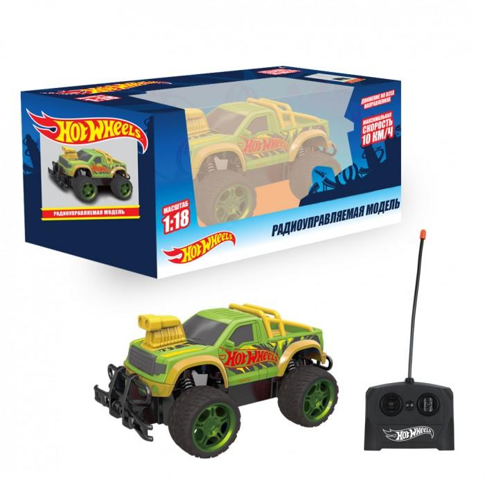 Радиоуправляемые игрушки 1 Toy Hot Wheels Внедорожник на радиоуправлении 1:18 Т14169