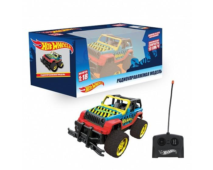 Картинка для Радиоуправляемые игрушки 1 Toy Hot Wheels Внедорожник на радиоуправлении 1:18 Т14168